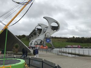 AGM 2017 - Members board the Falkirk Wheel.JPG