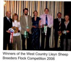 2006 - WC Club Flock Competition Winners.JPG