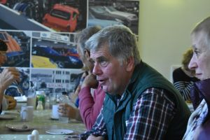 AGM 2019 - Chairman Ifor Jones in deep discussion.JPG