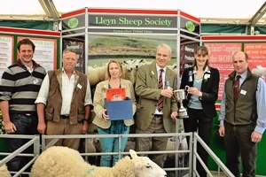NSA North Sheep Winning Breed Stand 2013