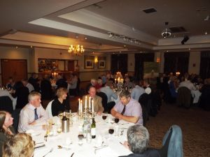 AGM 2017 - The members enjoyed a pleasant evening at the annual dinner.JPG