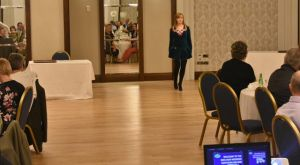 AGM 2018 - Catherine Kennedy entertains with some traditional Irish Dancing.JPG
