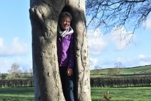 AGM 2018 - Someone lese hiding in the tree - Ruth Dugdale.JPG
