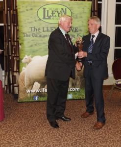 AGM 2017 - Dai Morris presents the Lluest Wen Cup collected by David Crane on behalf of G & A Fort.JPG