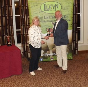 AGM 2017 - Gill Adams presents the Roseland cup to Meurig Williams on behalf of WJ & DJ Williams.JPG